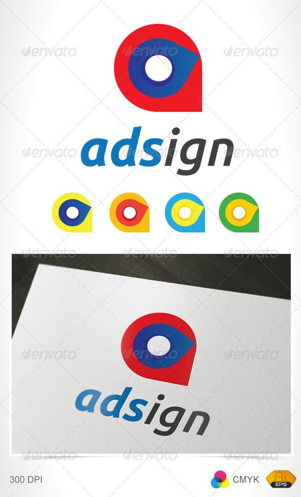 Adsign Logo - Vector Abstract