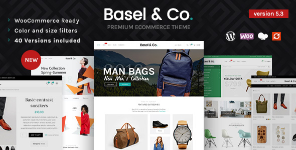 Basel - Responsive eCommerce Theme