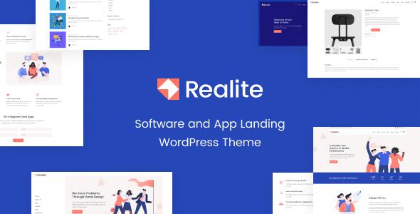 Realite - A WordPress Theme for Startups