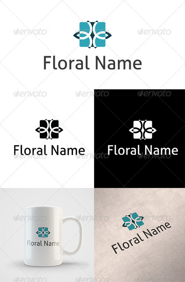 Floral Logo - Abstract Logo Templates