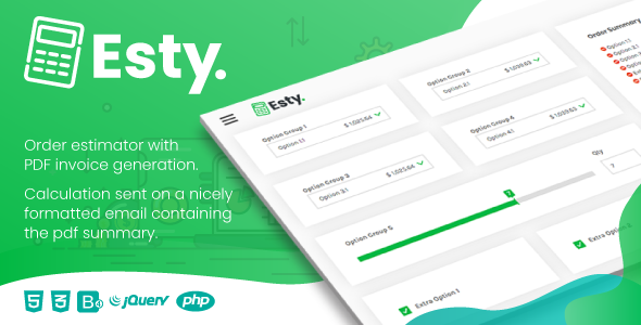 Download Esty   Order Estimator and PDF Summary Generator Free Nulled
