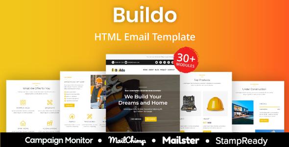 Buildo - Construction Responsive Email Template