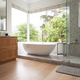 Modern interior design of bathroom - PhotoDune Item for Sale