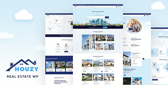 Houzy - Real Estate Theme