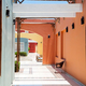 Architectural perspective patio in the street - PhotoDune Item for Sale
