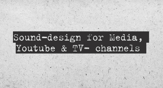 Sound-design for  Media And TV Channel