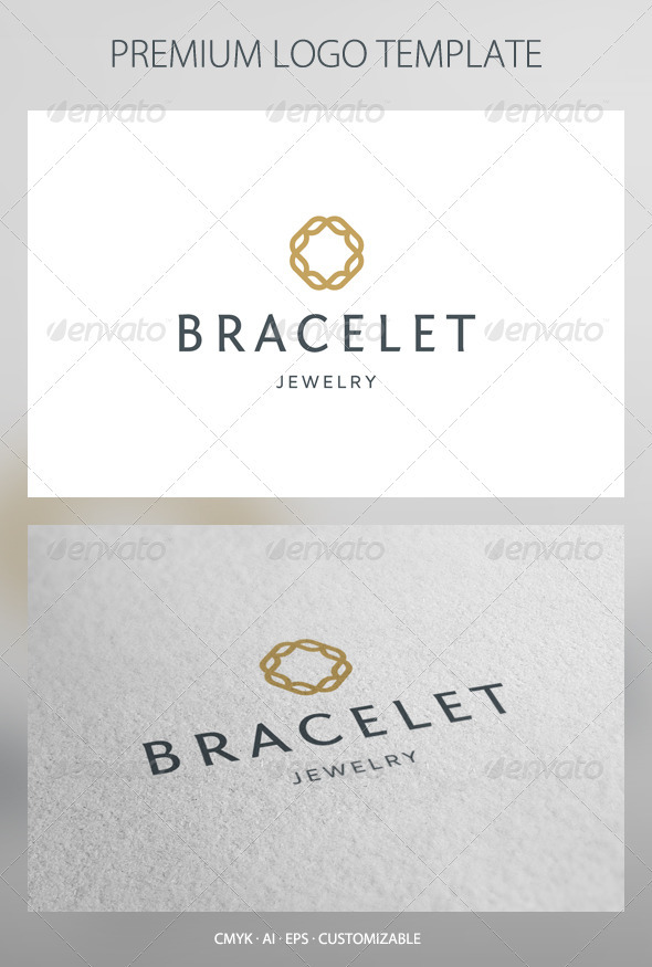 Bracelet - Abstract Symbol Logo Template - Abstract Logo Templates