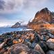 Lofoten islands in the Norway. Winter landscape. Travel image - PhotoDune Item for Sale