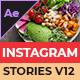 Food Instagram Stories V12 - VideoHive Item for Sale