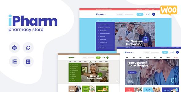 IPharm - Online Pharmacy & Medical WordPress Theme
