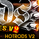 Hotrods Photoshop Styles V2 - GraphicRiver Item for Sale