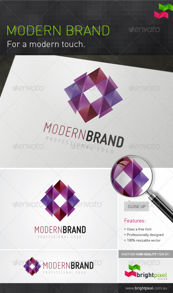 Modern Brand - Vector Abstract
