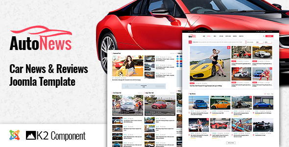 AutoNews – Cars News, Cars Review Joomla Template