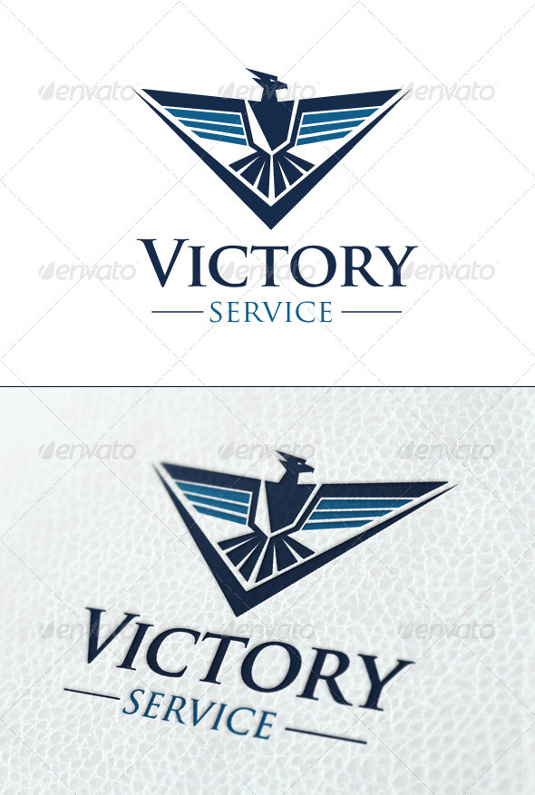 Victory Service - Crests Logo Templates