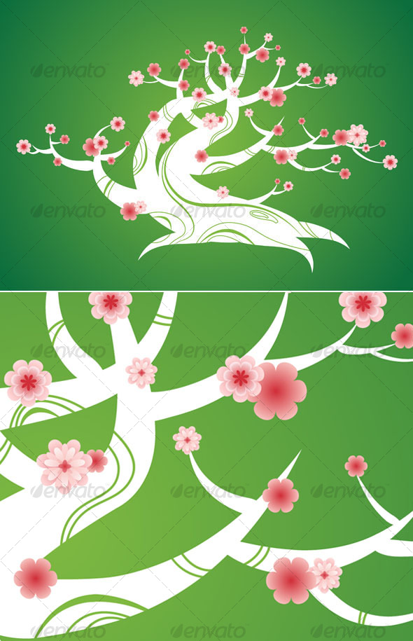 Spring bonsai - Decorative Symbols Decorative