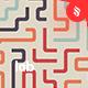 Lab - Colorful Maze Lines Background Set