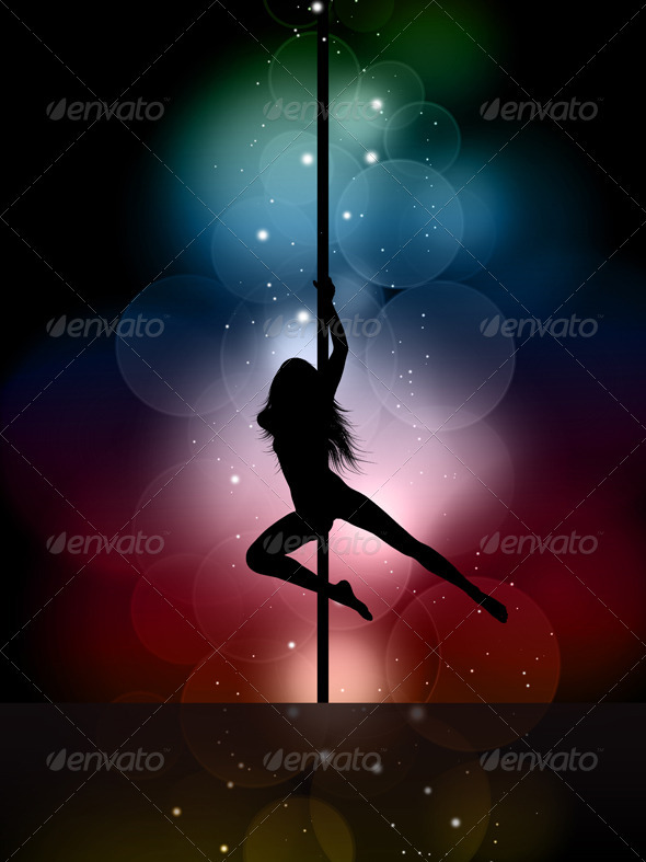 Pole Dancer - People Characters