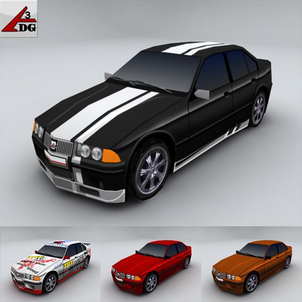 BMW 3 - 3DOcean Item for Sale