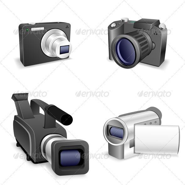 Camera set - Technology Conceptual