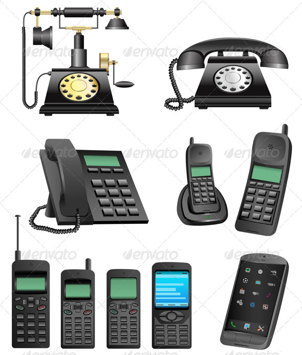 Phone evolution - Communications Technology