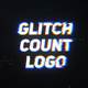 Glitch Countdown Logo - VideoHive Item for Sale