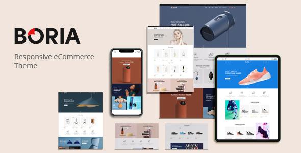 Boria - Multipurpose WooCommerce WordPress Theme