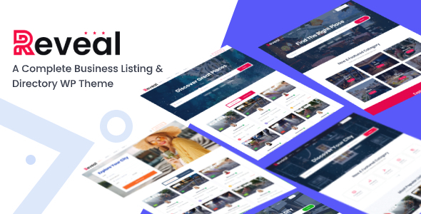 Download Reveal – Directory & Listing WordPress Theme Free Nulled