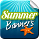 Summertime Banners - GraphicRiver Item for Sale