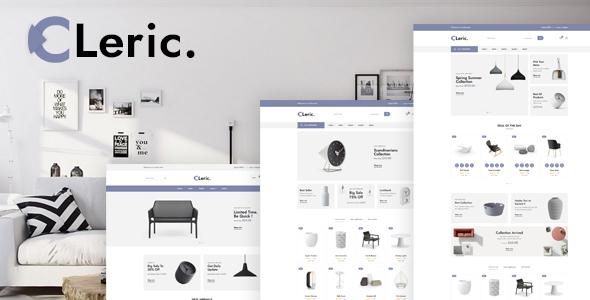 Cleric - Furniture Shop HTML Template