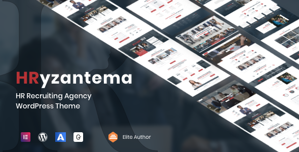 Hryzantema - Human Resources & Recruiting WordPress