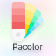 Pacolor - Infinite Color Palette Generator and Random made with React