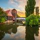 Nuremburg, Germany at Hangman's Bridge on the Pegnitz River - PhotoDune Item for Sale