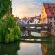 Henkersteg in Nuremberg, Germany on the Pegnitz River - PhotoDune Item for Sale