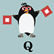 Penguins making the Semaphore Alphabet - GraphicRiver Item for Sale