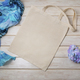 Placeit – Tote bag mockup with blue scarf and hidrangea flower - PhotoDune Item for Sale