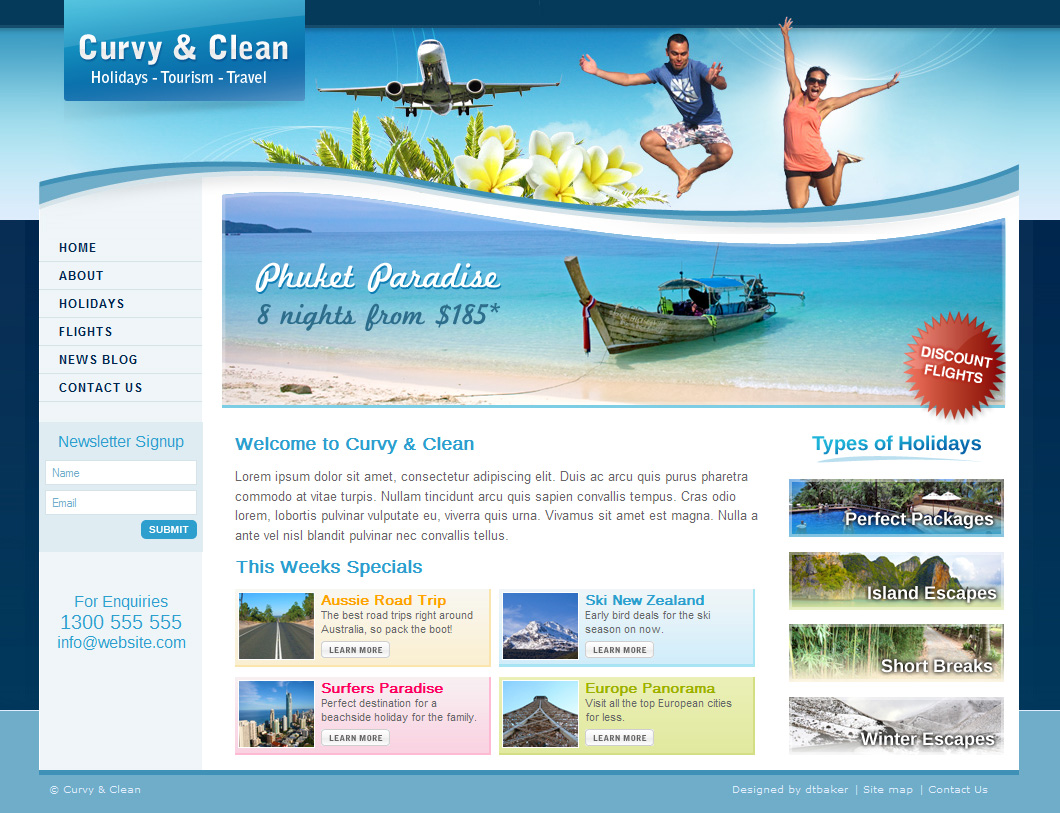 website templates for tourism - Boat.jeremyeaton.co