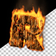 The Burning Alphabet - VideoHive Item for Sale