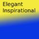 Elegant inspirational