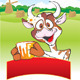 Cow with a milk pot - GraphicRiver Item for Sale