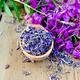 Herbal tea from fireweed on wooden spoon - PhotoDune Item for Sale
