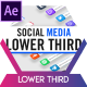 3D Social Media Lower Thirds - VideoHive Item for Sale