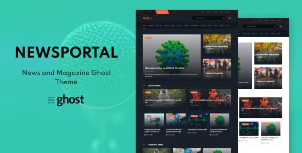 Download Newsportal - News and Magazine Ghost Blog Theme }}