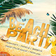 Beach Party Vol.1 - Flyer/Poster Template - GraphicRiver Item for Sale