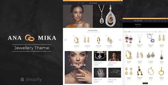 Anamika - Jewelry Fashion Shopify