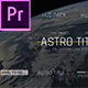 Astro Title 2 - VideoHive Item for Sale
