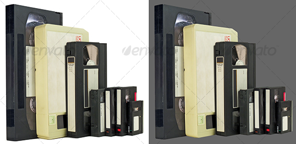 Side by side videotapes - Technology Isolated Objects
