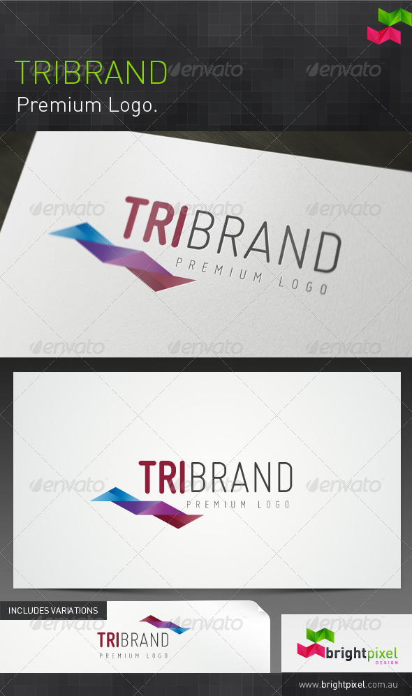 Tribrand - Abstract Logo Templates