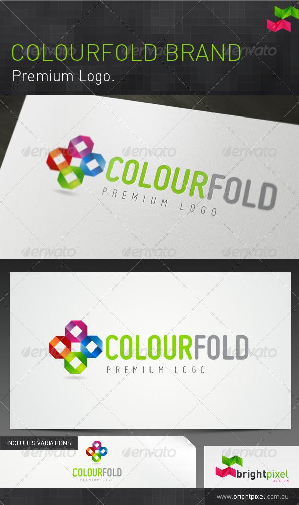 Colourfold Brand - Abstract Logo Templates