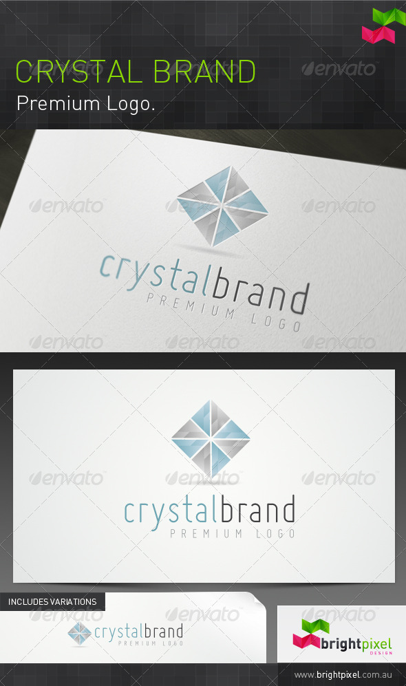 Crystal Brand - Nature Logo Templates