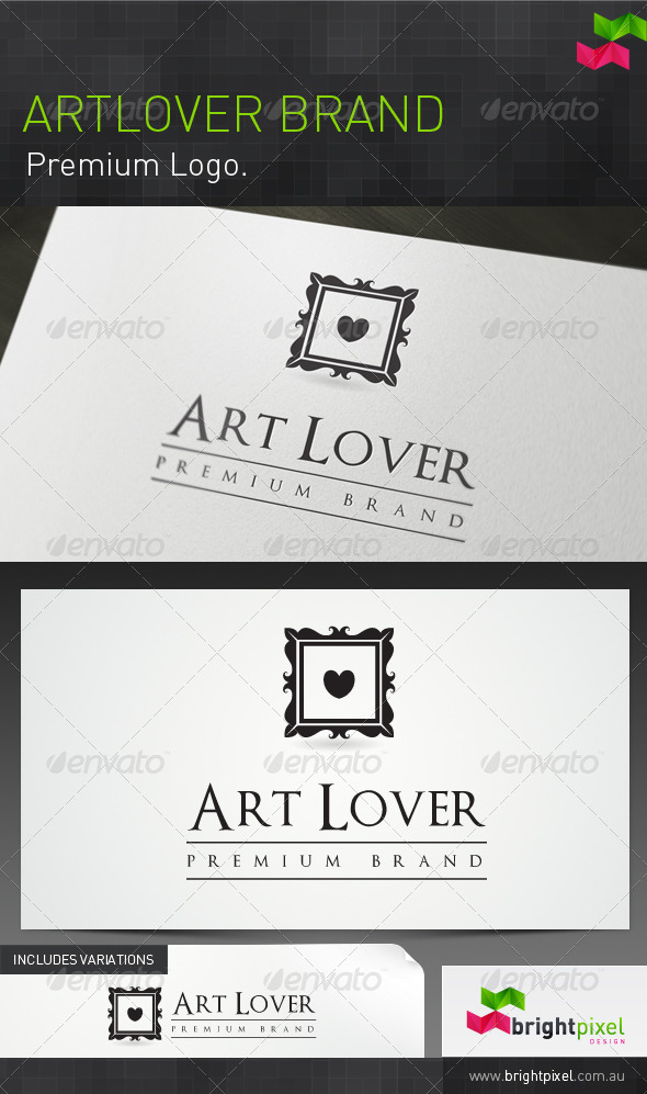 Artlover Brand - Objects Logo Templates
